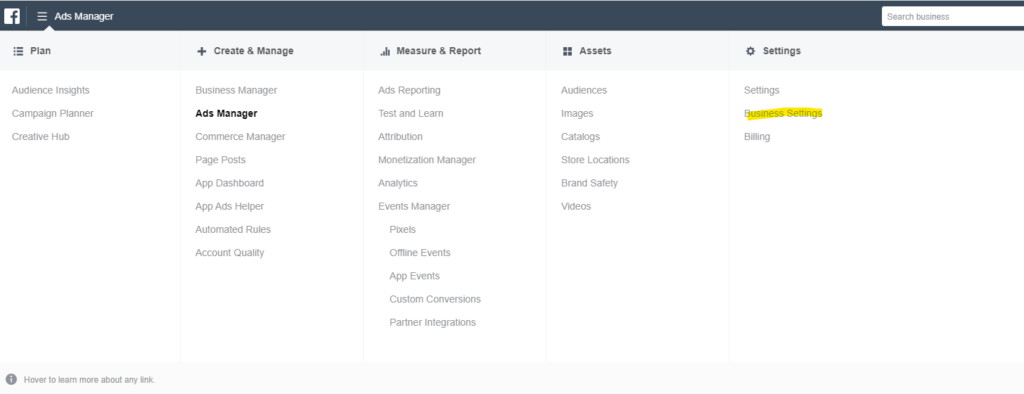 business-settings-facebook